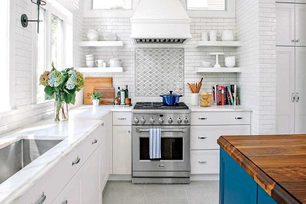 ایده هایی برای بزرگ به نظر رسیدن آشپزخانه